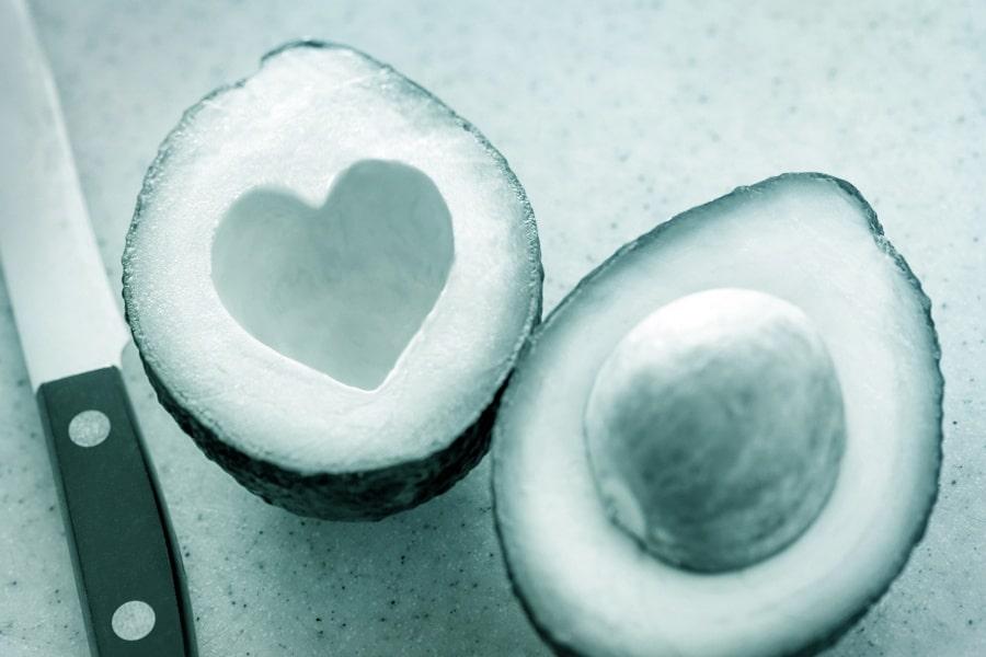 Gesunde Ernährung Prävention Herz-/Kreislaufkrankheiten Avocado