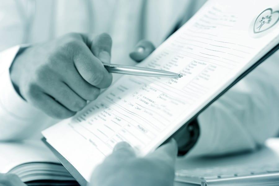 Anamnese Risiko-Faktoren Check-up kardiovaskuläre Untersuchung
