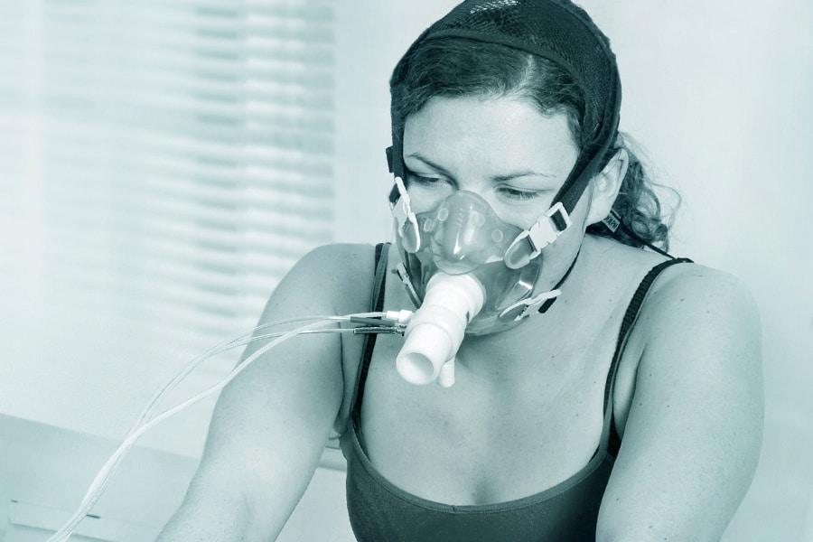 Spiroergometrie im Cardio Health Centrum Ergometer