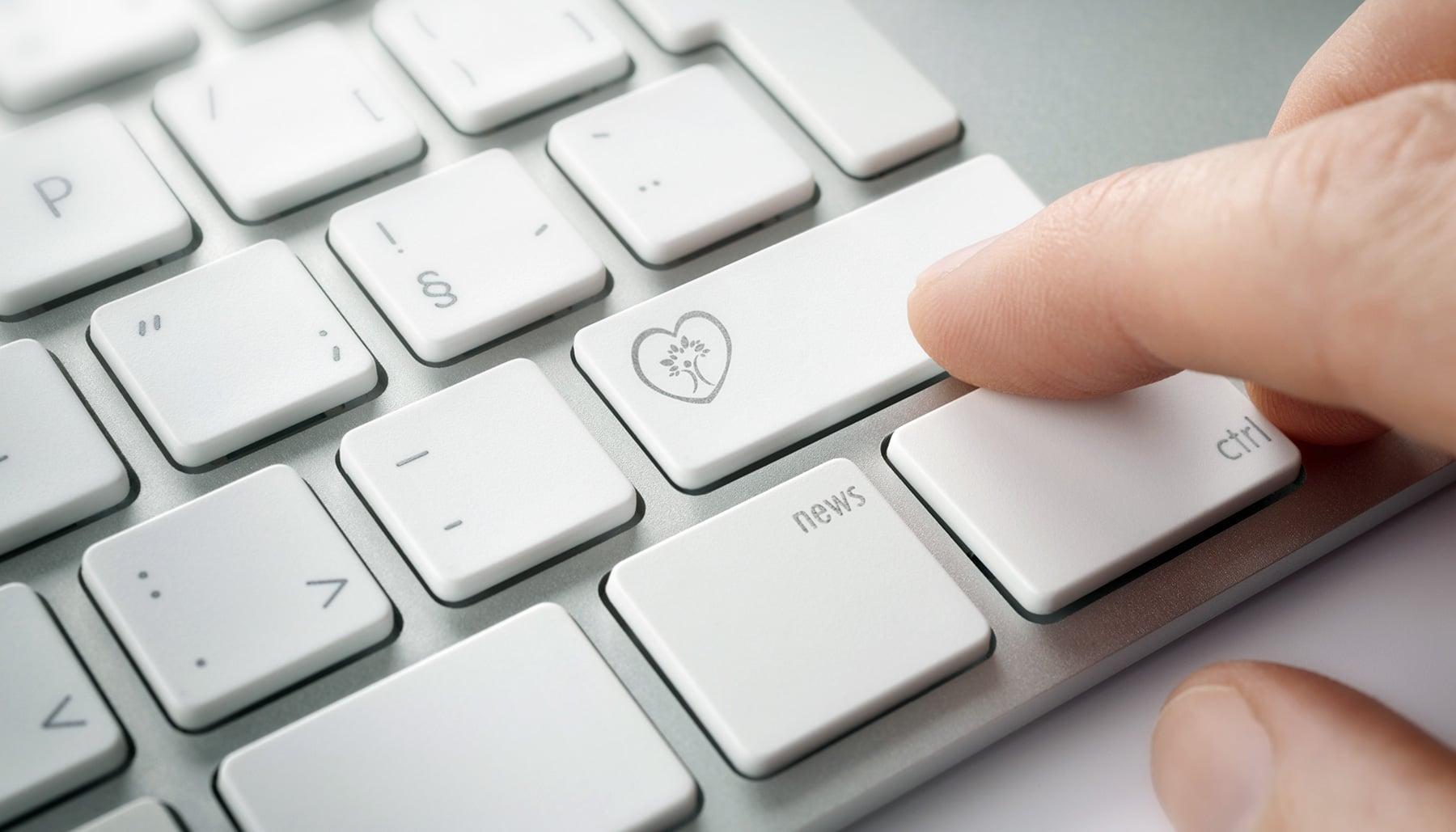 Kardiologie Cardio Health News Tastatur Blog