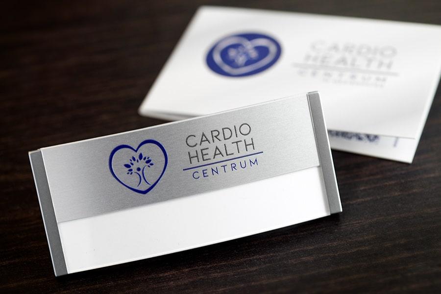Job Karriere Kardiologie FMA Namensschild